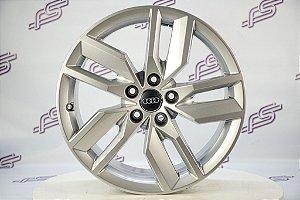 Jogo De Rodas Audi Q5 Original 2019 Prata 5x112 - 18x8