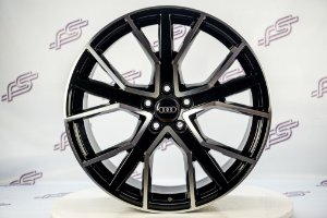 Jogo De Rodas Audi Rs Q7 Preto Diamantado 5x112 - 20x9