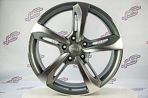 Jogo de Rodas Audi Rs7 2014 Grafite Diamantado 5x112 - 20x9