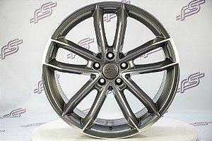Jogo De Rodas Audi S5 Coupe Grafite Diamantado 5x112 - 19x9