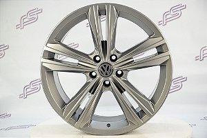 Jogo De Rodas VW Tiguan R line Grafite Semi Brilho 5x112 - 19x8,5