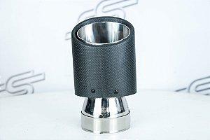Ponteira Carbono Oval JTS-69 76x102mm