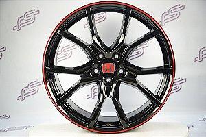 Jogo De Rodas Honda Civic Type-R 2020 5x114 - 20x8