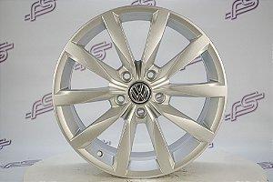Jogo De Rodas VW Golf Gti Original Prata 5x112 - 17x7,5