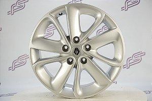 Jogo De Rodas Renault Fluence 2018 Original Prata 5x114,3 - 17x7
