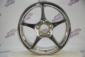 Jogo De Rodas Corvette Estrela Original Polida 5x120 - 17x8,5 e 18x9,5