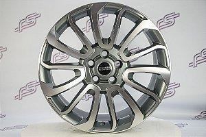 Jogo De Rodas Range Rover 2014 Grafite Diamantado 5x108 - 20x9,5
