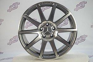 Jogo De Rodas Mercedes C-63 AMG Black Series 5x112 - 18x8,5 E 18x9,5
