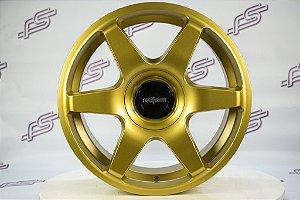 Jogo De Rodas Rotiform Six Dourado 5x100 / 5x112 - 18x8,5