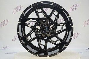 Jogo De Rodas Off Road Western Wheel Colt 8x165,1  -20x10
