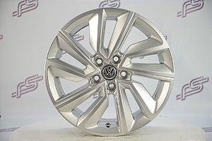 Jogo De Rodas VW T-Cross 2019 Original Prata 5x100 - 16x6