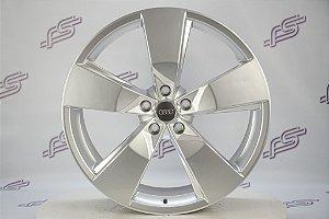 Jogo De Rodas Audi Cross Prata 5x112 - 20x8