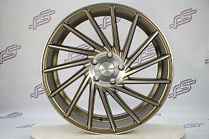 Jogo De Rodas  Vossen 305T Bronze Fosco 5x120 - 20x8,5