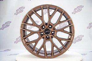 Jogo De Rodas Orion Bronze Fosco 5x112 - 19x8,5