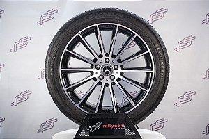 Jogo De Rodas Mercedes GLC-AMG 2019 Original Preto 5x112 - 20x8,5 E 20x9,5 (Com Pneus)