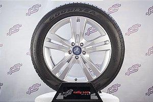 Jogo De Rodas Mercedes ML 350 2015 Original Prata 5x112 - 19x8 (Com Pneus)