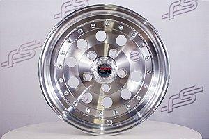 Jogo de rodas Ion Modelo 71 Polida Aro 14 / Tala 6 / Furação 5x114.3
