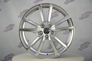 Jogo De Rodas VW Golf Pretoria Prata 5x112 - 19x8
