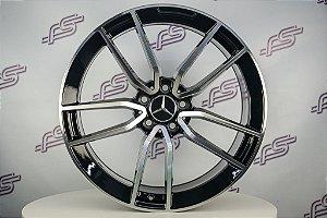 Jogo De Rodas Mercedes AMG E-53 2020 Preto 5x112 - 20x8,5 e 20x9,5