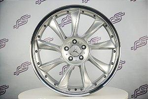 Jogo De Rodas Mercedes SLR 2012 Prata 5x112 - 20x8,5