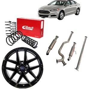 Combo Ford Fusion  (Roda + Mola Eibach + Escapamento Digipower)