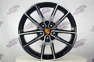 Jogo De Rodas Porsche 911 targa 4s 2021 Preto 5x130 - 20x8,5 E 20x9,5