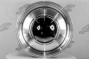 Roda Smoothie Diamantada aro 15 / Tala 6 / Furação 5x114,3/139,7