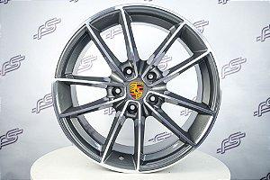 Jogo De Rodas Porsche 911 targa 4s 2021 Grafite 5x130 - 20x8,5 E 20x9,5