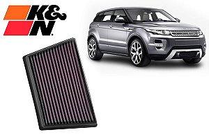 Filtro K&N Evoque/ Jaguar E-pace 18+/ Discovery Sport 16+