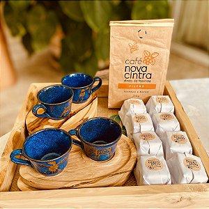 Kit Cafezinho Luxo com Pão de Mel