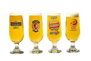 Conjunto 4 Copos Cerveja Satira 300ml