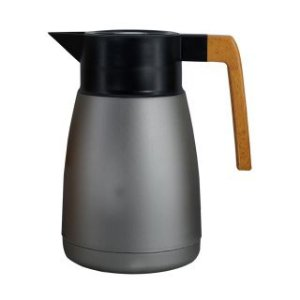 Garrafa Térmica Coffeshop 1 Litro Cinza Metálico