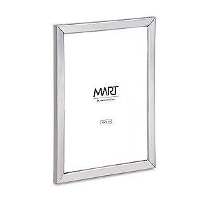 Porta Retrato Prata em metal 10x15 cm
