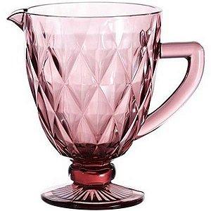 Jarra de Vidro 1 litro Lilás Diamond