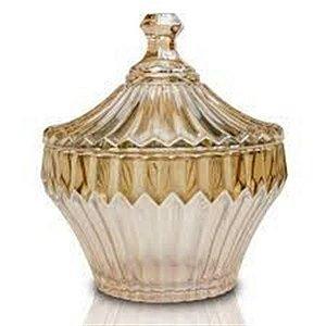Bomboniere de Cristal Renaissance 11,5 x 13,5 cm Ambar