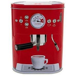 Pote Lata Vermelha Para Café