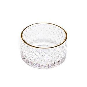 Mini Vaso Decorativo de Vidro  10x5,5 cm