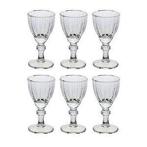 Taças Licor Cristal Athenas 6 Peças 50 ml