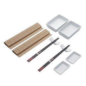 Jogo para sushi 10 peças