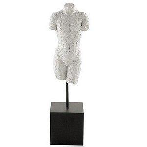 Escultura Corpo Homem em Poliresina