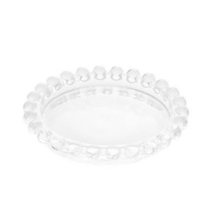 Conjunto 4 Pratos Cristal Pearl 10 CM