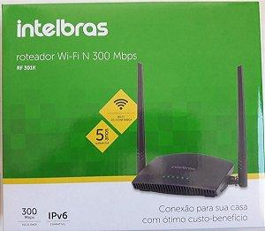 Roteador Intelbras RF 301K 2 Antenas 300Mbps