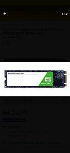 HD SSD M2 120GB WD