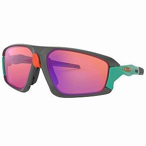 Óculos Oakley Field Jacket Matte Dark Gray Prizm Trail