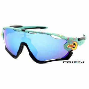Óculos Oakley Jawbreaker Splatter Celeste Prizm Sapphire