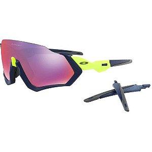 Óculos Oakley Flight Jacket Matte Nav Prizm Road