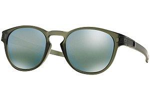 Óculos Oakley Lacht Matte Olive Ink Emerald Iridium