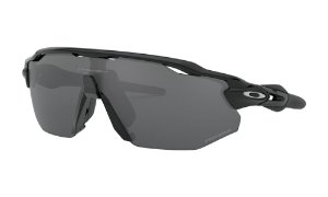 Óculos Oakley Radar Ev Advancer Polished Black Prizm Black Polarizado