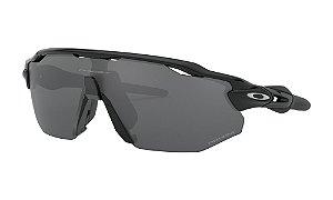 Óculos Oakley Radar Ev Advancer Polished Black Prizm Black Polarizado