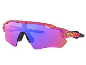 Óculos Oakley Radar Ev Path Splatter Neon Pink Prizm Trail